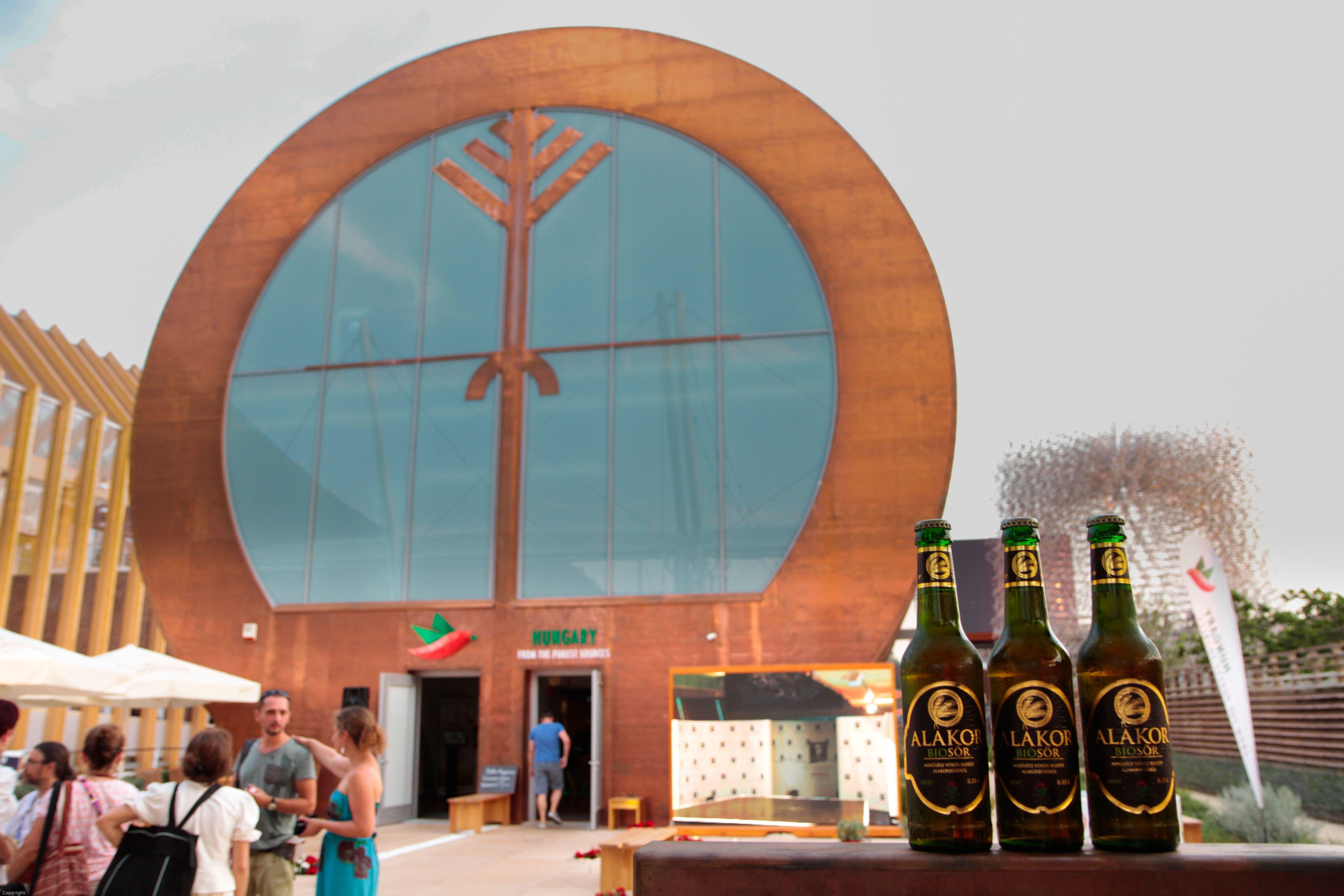 Milánói világkiállítás magyar pavilon
